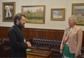 DECR chairman meets with the head of the Greek diplomatic mission in Moscow