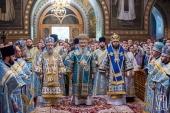В праздник Покрова Пресвятой Богородицы Блаженнейший митрополит Онуфрий совершил Литургию в Покровском монастыре города Киева