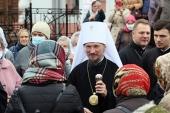 Патриарший экзарх всея Беларуси возглавил престольный праздник Покровского кафедрального собора города Гродно