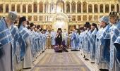 Праздник Покрова Божией Матери встретили в Московской духовной академии