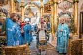 Председатель Синодального отдела по монастырям и монашеству возглавил торжества по случаю престольного праздника Покровского ставропигиального монастыря