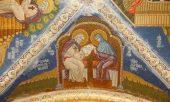 Продолжаются работы по украшению мозаичными фресками Благовещенского собора Дивеевской обители
