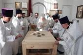 Митрополит Крутицкий Ювеналий освятил Покровский храм в подмосковном селе Сосновка