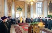 Патриарший экзарх всея Беларуси посетил Лидскую епархию