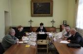 В Издательском Совете состоялось заседание совета экспертов литературного конкурса «Новая библиотека»