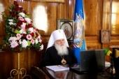 Заседание Синода Среднеазиатского митрополичьего округа впервые прошло в дистанционном формате