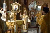 В день памяти святителей Гурия и Варсонофия глава Казахстанского митрополичьего округа совершил Литургию в Софийском соборе Алма-Аты
