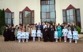 Митрополит Минский Вениамин принял участие в закрытии V Международного художественного пленэра «Святасць зямлi Беларускай»