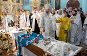 В Луганске простились с новопреставленным митрополитом Иоанникием (Кобзевым)