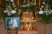 A Panikhida was celebrated for the former Primate of the Orthodox Church in America Metropolitan Theodosius at the Church of St. Catherine-in-the-Fields in Moscow
