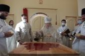 Патриарший наместник Московской епархии освятил Никольский храм в подмосковной деревне Верхнее Маслово