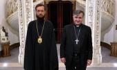 Патриарший экзарх Западной Европы встретился с католическим ординарием Вооруженных сил Франции