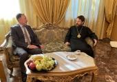 Состоялась встреча председателя ОВЦС с послом Российской Федерации в Сирии А.В. Ефимовым