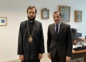 Патриарший экзарх Западной Европы встретился с послом Ливана во Франции Рами Адваном