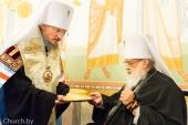 В Минске молитвенно отметили 55-летие архиерейской хиротонии митрополита Филарета (Вахромеева)
