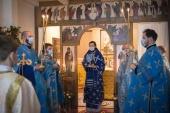 Патриарший экзарх Западной Европы возглавил торжества по случаю престольного праздника храма иконы Божией Матери «Всех скорбящих Радость» в Париже