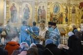 Председатель Синодального отдела по монастырям и монашеству возглавил престольные торжества Крестовоздвиженского Иерусалимского ставропигиального монастыря
