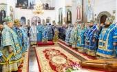 В рамках празднования 500-летия основания Успенского Жировичского монастыря в обители состоялось соборное архиерейское богослужение