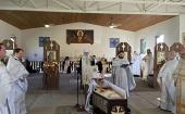 Духовенство Московского Патриархата приняло участие в прощании с митрополитом Феодосием (Лазором)