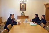 Председатель Отдела внешних церковных связей встретился с послом Королевства Бахрейн