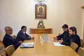 Состоялась встреча председателя ОВЦС с послом Эфиопии в России