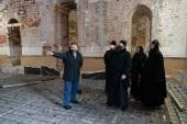 Председатель Финансово-хозяйственного управления ознакомился с ходом реставрации храмов Тверской епархии