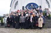 Патриарший экзарх всея Беларуси возглавил престольный праздник жодинского храма в честь иконы Божией Матери «Избавительница»