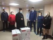 Новочеркасское благочиние Ростовской епархии оказало благотворительную помощь ковидному госпиталю Новочеркасска