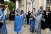 В Горненской обители отметили престольный праздник Казанского храма