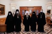 Члены Межведомственной комиссии по вопросам образования монашествующих посетили Санкт-Петербургскую митрополию