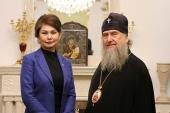 Глава Казахстанского митрополичьего округа и министр информации и общественного развития Казахстана обсудили сотрудничество в продвижении принципов межконфессионального согласия и межрелигиозного диалога