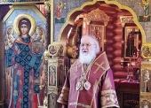 Патриаршая проповедь в Неделю 22-ю по Пятидесятнице после Литургии в Александро-Невском скиту