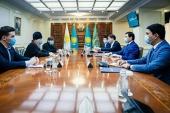 Состоялась встреча митрополита Астанайского Александра с акимом г. Нур-Султана А.С. Кульгиновым