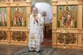 В Николо-Вяжищском ставропигиальном монастыре освящен храм в честь апостола Иоанна Богослова