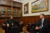 Председатель ОВЦС встретился с послом Литовской Республики в Российской Федерации