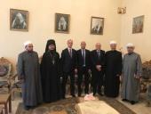 В Представительстве Русской Православной Церкви в Дамаске был отслужен молебен о возвращении сирийских беженцев