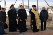 Глава Казахстанского митрополичьего округа посетил место массового захоронения узниц Акмолинского лагеря