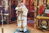 В Неделю 23-ю по Пятидесятнице Святейший Патриарх Кирилл совершил Литургию в Александро-Невском скиту и вознес молитвы о жертвах ДТП