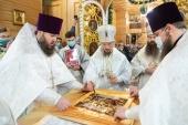 Патриарший экзарх всея Беларуси посетил Слуцкую епархию