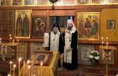 Иерарх Грузинской Церкви принял участие в панихиде по первому директору Музея Рублева Д.И. Арсенишвили