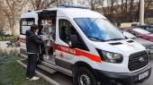 В московскую больницу святителя Алексия поступила новая машина скорой помощи