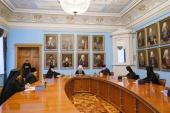 Состоялось собрание игуменов и игумений монастырей Санкт-Петербургской епархии