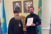 В дар Башкортостанской митрополии переданы мощи Казахстанских святых