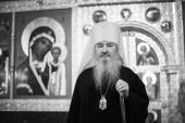 Патриаршее соболезнование в связи с кончиной митрополита Казанского Феофана
