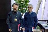 Митрополит Волоколамский Иларион встретился с послом России в Сербии