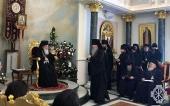 Εκπρόσωποι της Ρωσικής Εκκλησιαστικής Αποστολής έλαβαν μέρος στην υποδοχή εξ αφορμής της δεκαπενταετίας ενθρονίσεως του Μακαριωτάτου Πατριάρχου Ιεροσολύμων Θεοφίλου