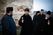 Патриарший экзарх всея Беларуси посетил Туровскую епархию