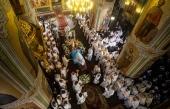 Состоялось отпевание и погребение митрополита Казанского и Татарстанского Феофана