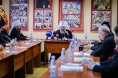 В Киевских духовных школах состоялся круглый стол, посвященный 85-летию со дня рождения митрополита Владимира (Сабодана)