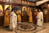 Управляющий Берлинско-Германской епархией возглавил богослужение в сербском храме Берлина